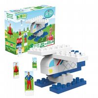 BiOBUDDi - Helicopter - Eco Friendly Block Set - 26 Blocks